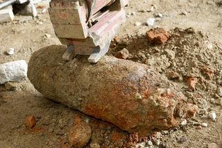 So ähnlich könnte die Bombe ausgesehen haben – diese Bombe wurde 2011 am Grazer Bahnhof gefunden.