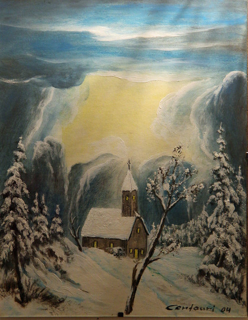 Kosmisch-Irdische Winterlandschaften von Centauri Alpha