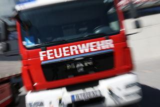 Die Feuerwehr musste  beim Brand in Saggen selbst nicht Hand anlegen.