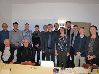 Neben Politikern wie Klaus Hoflehner und Peter Lehner kamen unter anderen Vertreter von Radvereinen zum Workshop.