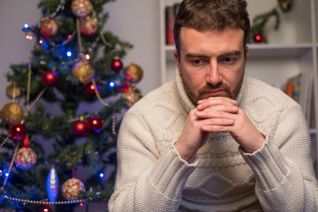alleine an weihnachten