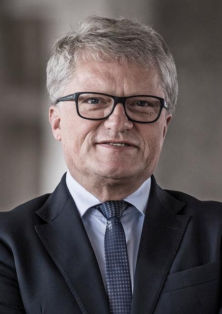 Bürgermeister Klaus Luger zeigte sich erleichtert, nun endlich über seine Sicht der Dinge betreffend die Aktenaffäre sprechen zu können.