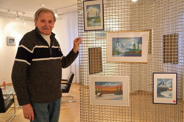 """Benefiz Ausstellung Damir Veble zu Gunsten """"Geben für Leben - Leukämiehilfe Österreich"""""""