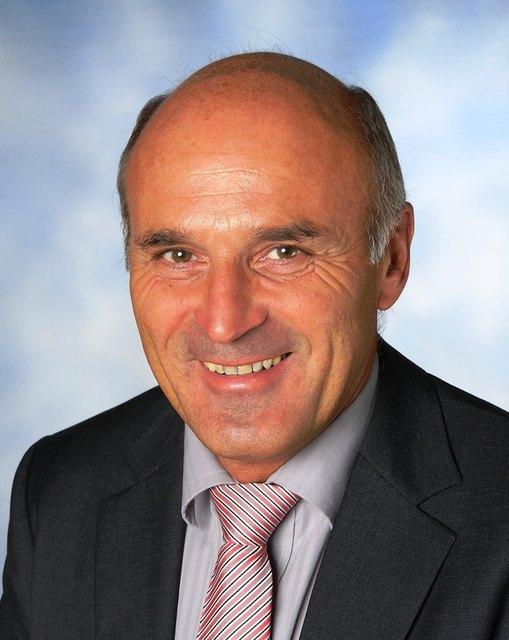 Hubert Tischler ist Bürgermeister von Bad Zell.
