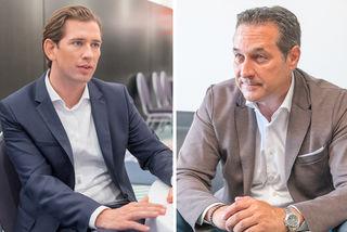 Sebastian Kurz und Heinz Christian Strache haben sich auf die wichtigsten Punkte der neuen Regierung geeinigt.