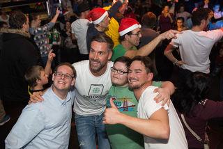 Fußball-Stars und Legenden wie Stefan Maierhofer feierten mit Fans und Freunden beim SPIELERPASS WEIHNACHTSCLUB im Prater Dome