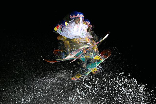 Action am Big Air gibt es zwischen den Musik-Acts. Foto: GEPA
