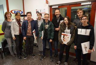 Die Schüler der PTS Köflach besuchten das bfi Köflach.
