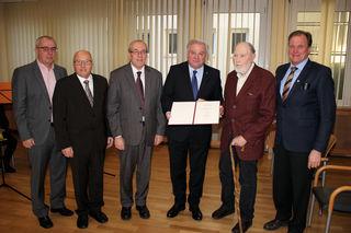 Karl Petinger, Walter Gaich, Ernst Meixner, Hermann Schützenhöfer, Franz Eigner und Erwin Dirnberger