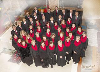 Der Gesangsverein Ilz begeisterte beim Adventkonzert in der Pfarrkirche in Ilz.
