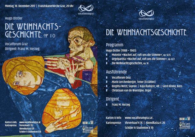 Vocalforum Graz - Konzertflyer
