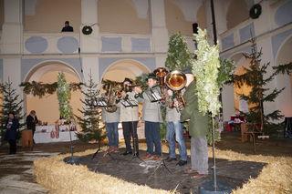 Die Piberer Weisenbläser sorgten bei der Eröffnung für musikalische Klänge.