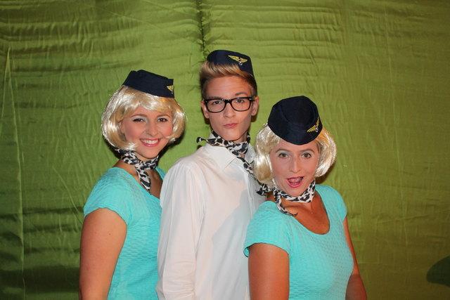Raclette, Louis und Babette heben wieder ab –wer mitfliegen will, sollte Tickets reservieren!