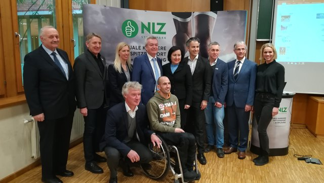 Auf eine erfolgreiche steirische Sport-Zukunft: Die steirischen Nachwuchssport-Leistungszentren wollen mit gutem Beispiel vorangehen.