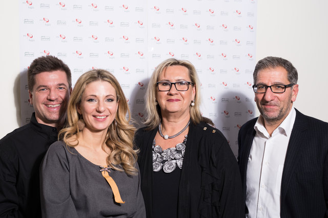 Von links: Erik Diewald, Iris Hagen, Bettina Döller (Balance Beauty Time) und Martin Döller.