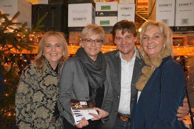 Elfriede Nindler, Petra und Günther Jordan und Luise Valentinitsch