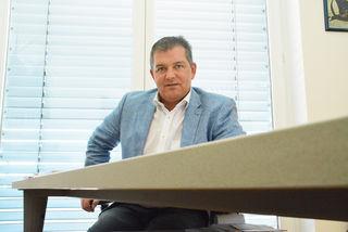 Der Sankt Margarethener Bürgermeister, Landtagsabgeordneter Gerd Brand.