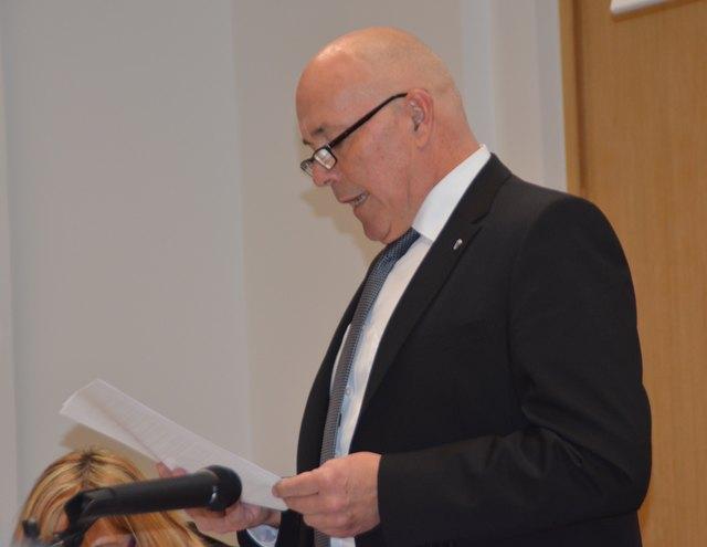 Bgm. Georg Rosner zeigte sich über das Budget für 2018 zufrieden. Beschlossen wurde es mehrheitlich.