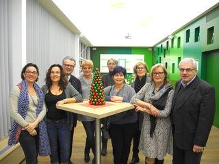 Anna Schrittwieser, Karin Gansfuß, Peter Hopfeld, Claudia Kreiter, Gertrude Körmer, Brigitte Steffal, Melittag Frech, Sylvia Fürhauser und Reinhold Schulz.