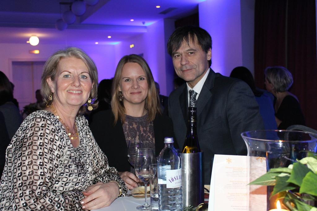 Dr. Melitta Hagelkruys, Mag. Nicole Henneis und Dr. Josef Berger