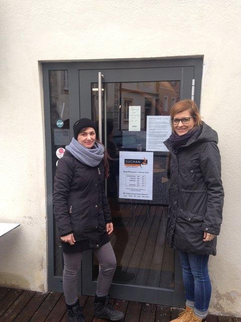 Von links: Hedi Wurm, Margit Schacherl.