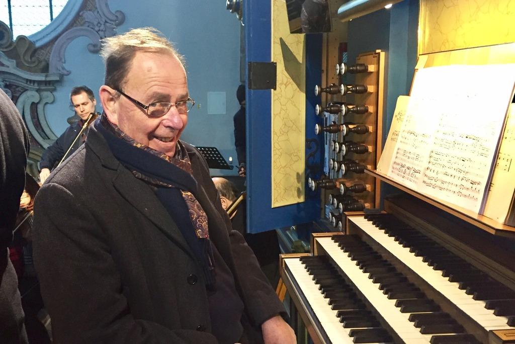 Reinhard Jaud ist seit 1978 Domorganist in IBK.