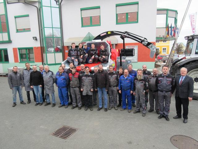 Firmentreue und Ausbildung werden bei der Firma Mus-Max in Groß St. Florian groß geschrieben.
