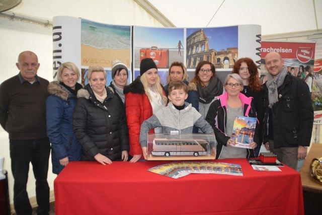 Das Team von Komet Reisen begrüßte viele Besucher.