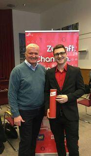 Hannes Fröhlich, erfolgreicher Absolvent der SPÖ Jugendakademie