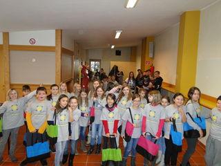 Begeisterte SchülerInnen aus den umliegenden Volksschulen erkundeteten die NMS Pischelsdorf.