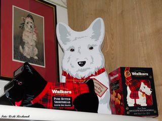 Zur Aufbewahrung gleich in besonders dekorativen Dosen - richtig auch diese bei mir in Hundeform ggg