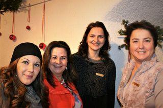 Isabella Radler, Elisabeth Oberleitner, Michaela Hafner-Černe und Jutta Schatz (v.l.)