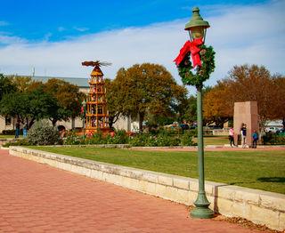 Adventzeit bei mehr als 20 Grad: Sebastian Buschek schickte der BezirksRundschau dieses vorweihnachtliche Bild aus Texas.