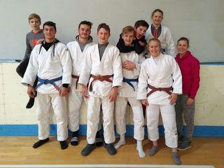 Das Bischofshofener Judo-Team von Sanjindo zeigte sich in Triest in starker Form.