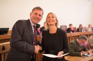 Sabine Klausner (SPÖ) übernimmt das Landtagsmandat von Othmar Schneglberger.