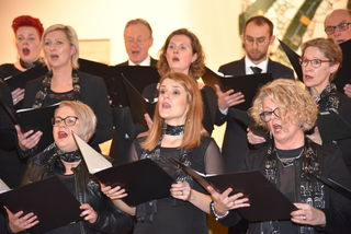 Der Singkreis St. Barbara erntete für sein Adventkonzert viel Lob.