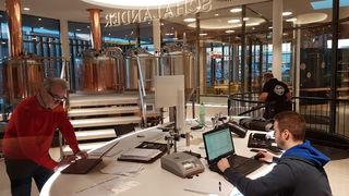 Hingucker: die Schaubrauerei im Sudhaus