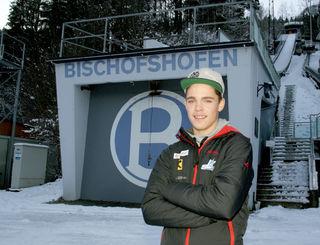 """Für Florian Fuschlberger heißt es heuer bei der Vierschanzentournee """"Start frei"""" auf der Großschanze in Bischofshofen."""