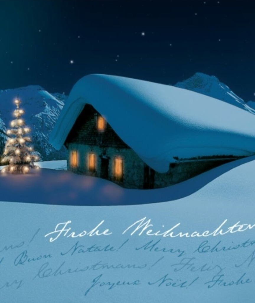 Frohe Weihnachten überall.Frohe Weihnachten überall Im Land Tennengau