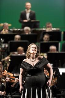 Sonja Šarić beim Neujahrskonzert 2018 in der Oper Graz