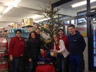 Das Billa-Team und die betroffene Familie bedankt sich bei den Deutschlandsbergern für die vielen Spenden.