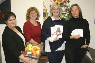 (v.l.n.r.): Bezirksfrauenvorsitzende Charlotte Zimmerl, Uschi Kromoser-Schammel, Landesfrauenvorsitzende Elvira Schmidt und Maria Reichartseder.