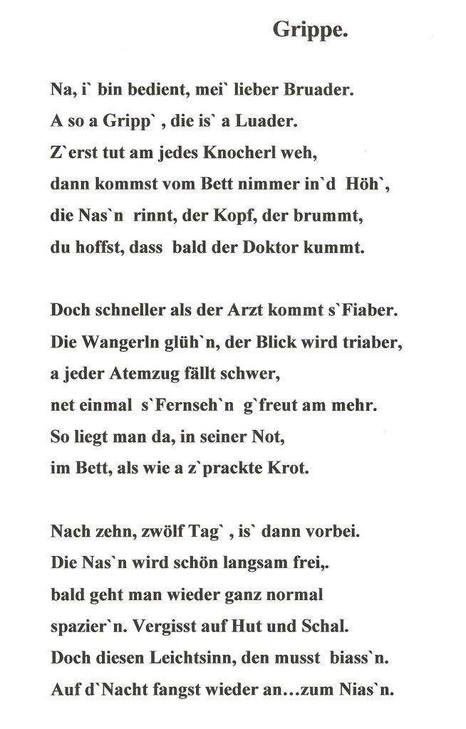Eigene Gedichte In Wien Thema Auf Meinbezirkat