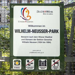 In Zukunft soll der Park den Namen der Begründerin der Abendschule, Wanda Lanzer, tragen