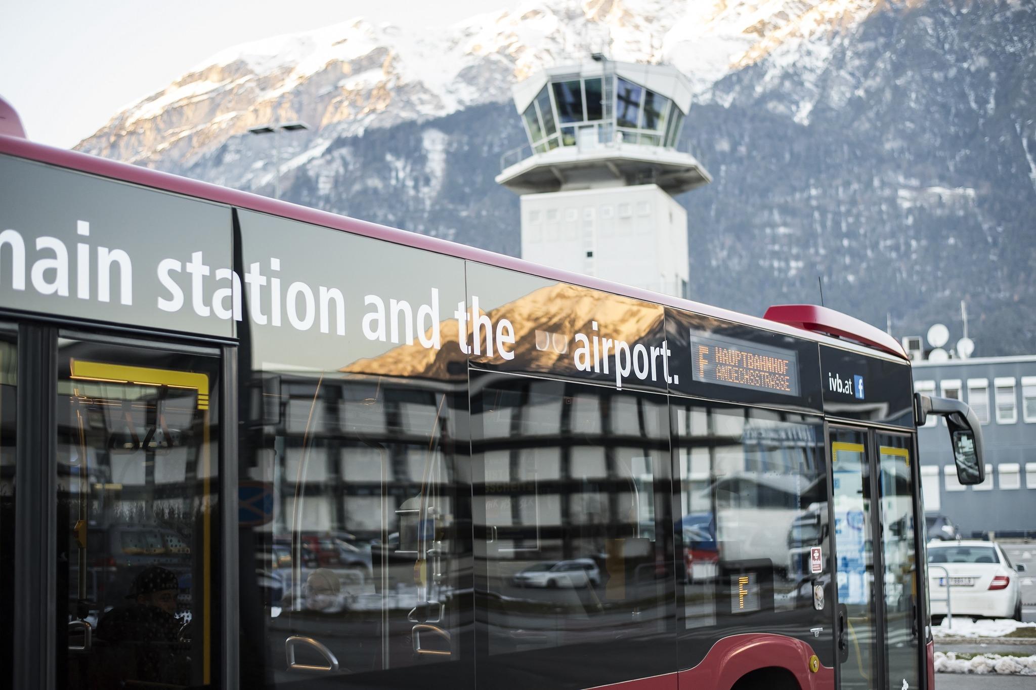 Linie F wird zum Touristenshuttle - Innsbruck