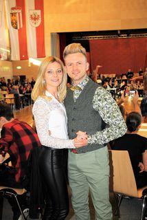 Stargast in Frohnleiten: Willi Gabalier und Gattin Christiana