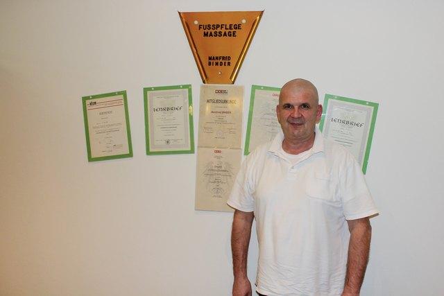 40 Jahre Erfahrung und Begeisterung für seinen Beruf: Manfred Binder