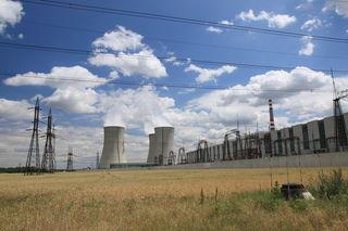 Das tschechische Atomkraftwerk Dukovany stammt noch aus dem Kommunimus. Jetzt soll es ausgebaut werden.
