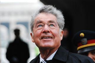 Einer der ersten Gäste des verjüngten Forums ist ein Wohlbekannter: Alt-Bundespräsident Heinz Fischer.