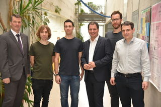 Kampf gegen Sicherheitslücken: Horst Bischof, Daniel Gruss, Michael Schwarz, Michael Schickhofer, Moritz Lipp, Stefan Mangard